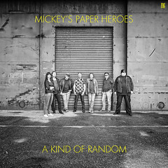 Mickey's Paper Heroes - A Kind Of Random (FAC Records) (Danny Holleman) Tags: record album cover albumcover music band fac artwork typography recordcompany facrecords fake vinyl square albumart text