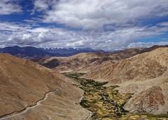 Down in the Valley (Lazybug) Tags: ladakh leh pangongtso valley india nature mountains sky natural lumixg5