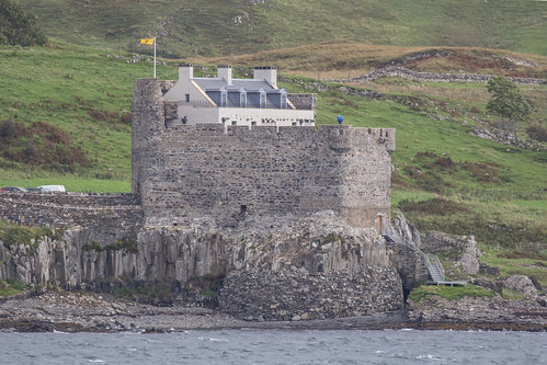 Mingary Castle from the Kilchoan Ferry Terminal