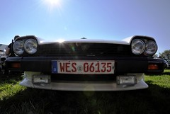 Intimidating: XJ-S frontal view (Pim Stouten) Tags: arden british car auto wagen pkw vhicule macchina burgzelem bumper grill grille stossstange front nose neus nase xjs jag jaguar xj27 v12