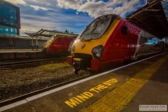 ChesterRailStation2016.09.22-9 (Robert Mann MA Photography) Tags: chesterrailstation chesterstation chester cheshire chestercitycentre trainstation station trainstations railstation railstations arrivatrainswales class175 class150 virgintrains class221 supervoyager class221supervoyager merseyrail class507 city cities citycentre architecture nightscape nightscapes 2016 autumn thursday 22ndseptember2016 trains train railway railways railwaystation