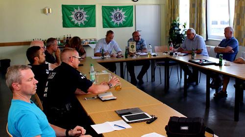 Gespräch zur Polizei-Ausstattung mit der Gewerkschaft der Polizei (GdP).