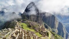 Machu picchu in Peru (Michi's Pics) Tags: peru machupicchu cloud southamerica inca