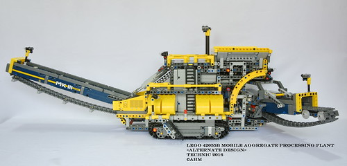 Lego 42055b Mobile Aggregate Processing Plant A Photo On Flickriver