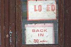 Glenthompson (Westographer) Tags: sign vintage decay australia victoria oldschool weathered shopwindow derelict patina australiana westerndistricts glenthompson