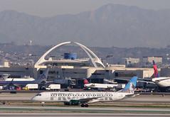 Frontier Airlines - N176HQ (InSapphoWeTrust) Tags: republic lax frontier klax 2013 e190 n176hq