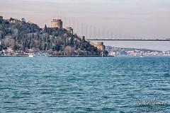 Rumeli Fortress, Istanbul (Daniel Mihai) Tags: city bridge sea tower turkey citadel istanbul fortress seashore hdr rumelifortress