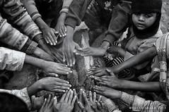 Sharing Life! (pusan_sm) Tags: life morning winter kids fire sharing sylhet pusan srimongal srimongol sylhet2012