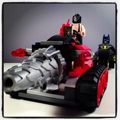 Bane's Tank (WEBmikey) Tags: toys lego batman instagram