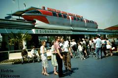 60's_Disneyland_06 (Hedrin) Tags: voyage 60s disneyland submarine 1960s monorail tomorrowland 1960