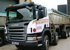 so15 (langson2) Tags: man tipper s lancashire trucks ltd scania ollerton haulage companys