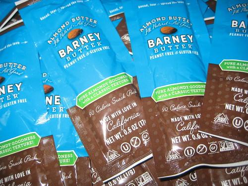 sanfrancisco barney almondbutter fancyfoodshow