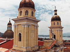 Catedral de Santiago (singep) Tags: rooftop church cathedral cuba catedraldesantiago