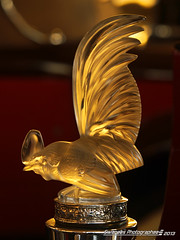 The Rooster (Swanee 3) Tags: glass rooster hoodornament bentley