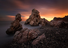 In Aphrodite's Rock Shadow