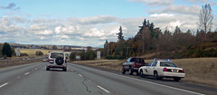 Washington State Patrol (AJM NWPD) (AJM STUDIOS) Tags: lights washington i5 ticket wa ajm 2012 sirens interstate5 skagitcounty pulledover milltown speedtrap trafficticket fordcrownvictoria trafficstop washingtonstatepatrol 2013 nwpd ajmstudiosnet northwestpolicedepartment nleaf ajmstudiosnorthwestpolicedepartment ajmnwpd northwestlawenforcementassociation ajmstudiosnorthwestlawenforcementassociation pickupdodgedakota