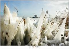 Kuiend ijs (1D134558) (nandOOnline) Tags: winter berg nederland natuur vuurtoren marken landschap noordholland ijselmeer ijs vorst markermeer vriezen ijsschotsen kruiendijs dooien paardvanmarken