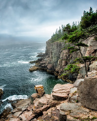 Mystery and Potential (John C. House) Tags: ocean seascape landscape nikon maine coastline nik nationalparks hdr acadia everydaymiracles d700 johnchouse bestevercompetitiongroup besteverexcellencegallery