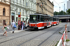 DPP 8714 [Prague tram] (Howard_Pulling) Tags: summer nikon czech prague prag praha czechrepublic cz dpp 2012 d5100
