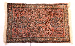 72. Persian Sarouk Area Rug