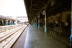 Mysore Train Station (veropie) Tags: travel india train asia south transit traveling karnataka mysore southindia southasia notatourist mysoretrainstation