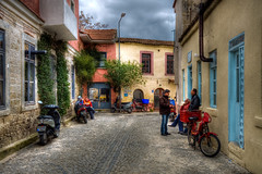 Alaat, Izmir (Nejdet Duzen) Tags: street trip travel people color colour turkey trkiye izmir sokak insanlar turkei renk seyahat alaat eme mygearandme hacmemimahallesi