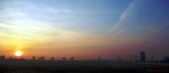 Sunset in winter without snow near Inowrocław (adacze) Tags: park winter sunset panorama landscape scenery pentax sunsets poland polska zima goldenhour widok solanki zachódsłońca krajobraz kujawskopomorskie inowrocław pentaxk200d parksolankowy złotagodzina