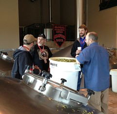 In the Huppmann Brewhouse (deschutesbrewery) Tags: collaboration barleywine rogueales northcoastbrewingcompany deschutesbrewery classof88