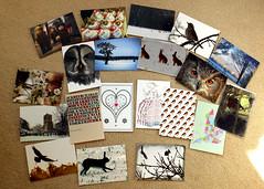 postcards unpacked (Jill Sawyer Phypers) Tags: photoshop photography illustrations moo adobe postcards illustrator