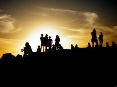 All'orizzonte, domani, ritorner (CreazioniDusiero) Tags: sea summer canon mar spain tramonto mare paesaggi formentera 1000 migjorn arenili