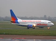 G-GDFO Boeing 737-3U3 Jet 2 Holidays (Keith B Pics) Tags: boeing bournemouth southend sen 737 jet2 b737300 egmc gthop jet2holidays packageholidaysyoucantrust ggdfo