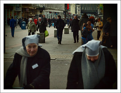Stealth Nuns (Ben.Allison36) Tags: street uk scotland glasgow argyle trongate