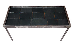 "Slate and Acrylic Top Coffee Table • <a style=""font-size:0.8em;"" href=""http://www.flickr.com/photos/80301931@N08/8466289931/"" target=""_blank"">View on Flickr</a>"
