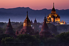 Twilight Bagan (joeziz EK pholrojpanya) Tags: from view you photos or everyone imagex seax photox cityx naturex artistx photographyx nightx nikonx travelx landscapex gettyx twilightx imagesx cityscapex skylinex fototrovex picksx
