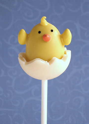 Hatching Chick Chocolate Truffle Pop