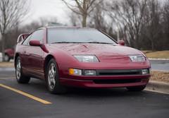 Nissan 300ZX (Thomas Struett) Tags: auto red chicago sports car tom speed canon 50mm dof nissan bokeh thomas f14 14 fast dslr naperville supercar crisis spotting jdm 300zx nissan300zx carspotting 40d struett istillbelieveinu thomasstruett