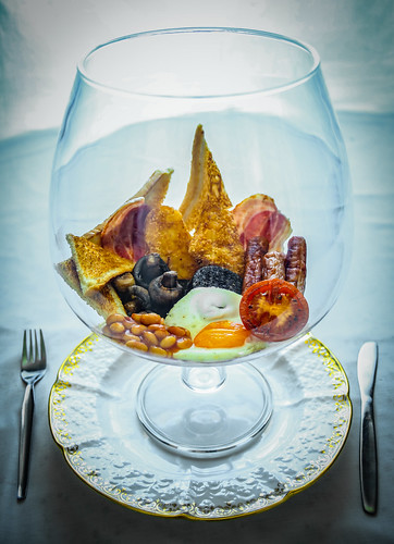 Full English Breakfast In A Glass - Food & Drink by Simon & His Camera