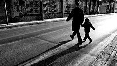 come quickly! (rp.k) Tags: crossing fatherandson
