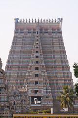 Srirangam (sureshs!) Tags: tower temple kaveri importance templetower cauvery vishnutemple ranganathaswamy ranganathar 108divyadesam srirangamisfamous srivaishnavites thetallestinasia