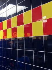 Tiles and Reflections (SA_Steve) Tags: color colour building colors america buildings colorful pattern colours patterns