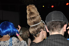 Steep (elwetritsche) Tags: party woman hair hairdo frisur karneval haare flickrhearts