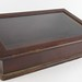 193. Table Top Display Case with Hinged Lid