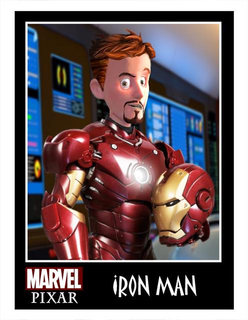 皮克斯風格的「MARVEL」&「DC」超級英雄!