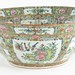 5032. Large Rose Medallion Punch Bowl