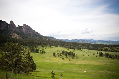 Photo - Flatirons from NCAR
