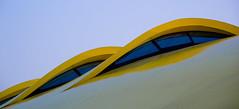 l'elemento umano (Antonio_Trogu) Tags: windows roof italy yellow museum italia tetto jan top museo modena emiliaromagna mef enzoferrari kaplický antoniotrogu