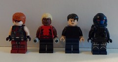 DC Heroes: Young Justice (-{Peppersalt}-) Tags: lego batman dccomics superheros villians minifigures peppersalt