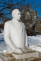 Monument to Leonid Brezhnev (Osdu) Tags: monument statue russia moscow soviet publicart sovietunion ussr cccp moscou moskva moskwa mosc leonidbrezhnev maskva