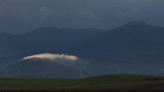 Mañana de invierno en La Janda / Winter morning (José Rambaud) Tags: winter sky rain weather clouds sunrise lluvia cloudy amanecer cielo nubes invierno cloudscape alcornocales skycape lajanda