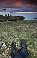 Chillin' in Elie (TayportTT) Tags: cloud lighthouse feet water beautiful st drive evening bay scotland nice fife gorgeous relaxing ruby elie cloudage monans